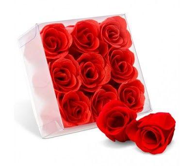 rosas de jabon para la ducha