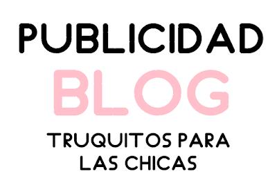 Publicidad en este blog