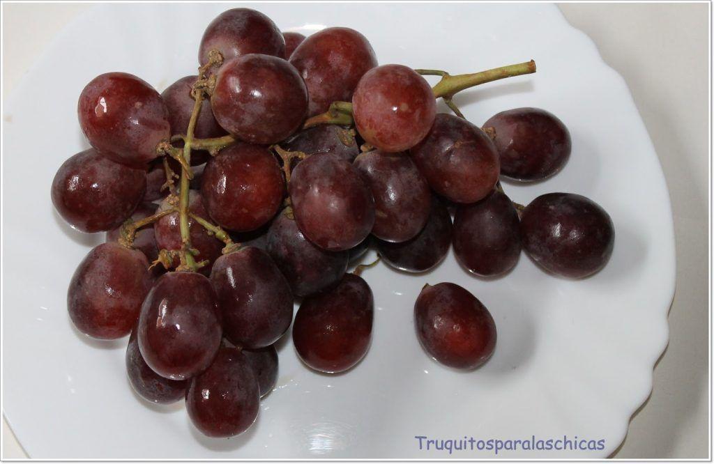 uvas rojas