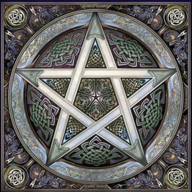 pentagrama de la suerte