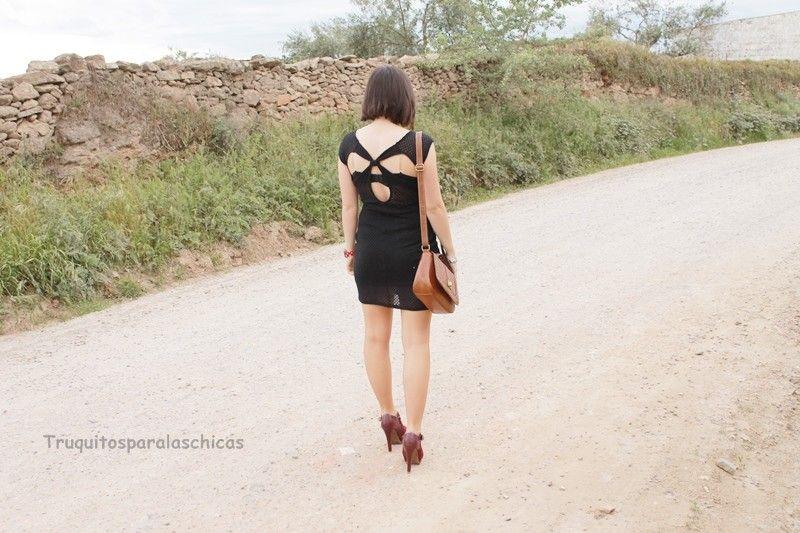 Cómo lucir los vestidos backless