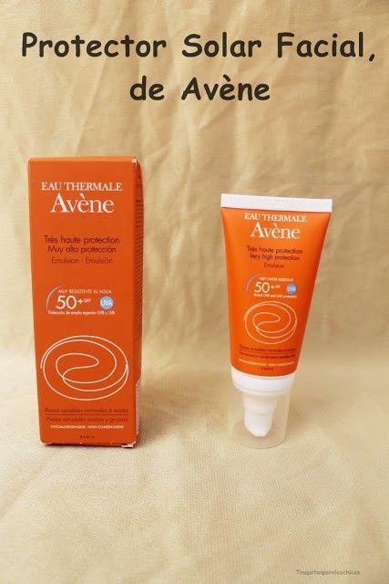 Emulsión SPF 50 facial de Avène