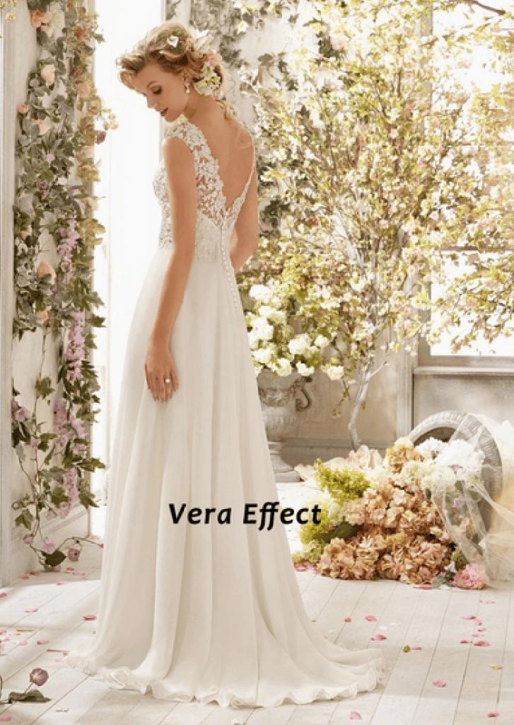 vestido de novia economico