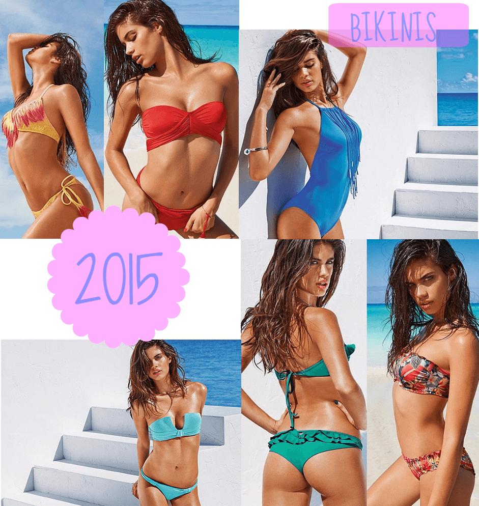 Bikinis y bañadores de calzedonia 2015