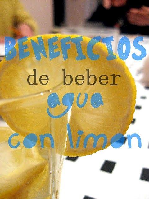 beneficios que nos aporta beber agua con limón