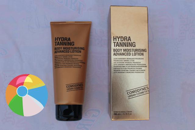 Hydra tanning body comodynes