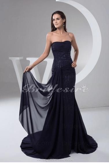 vestido con corte de sirena Strapless