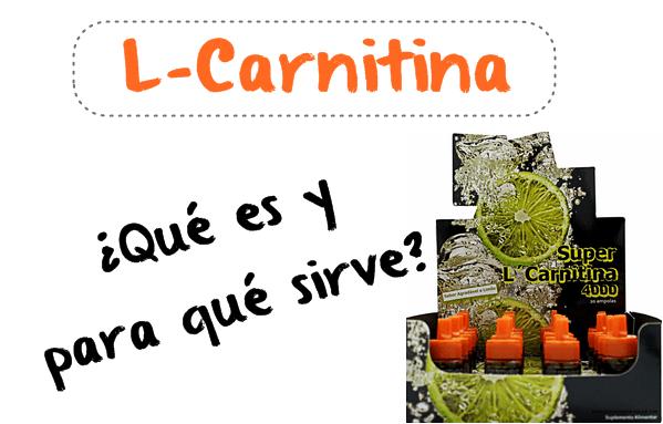 que es la L-Carnitina