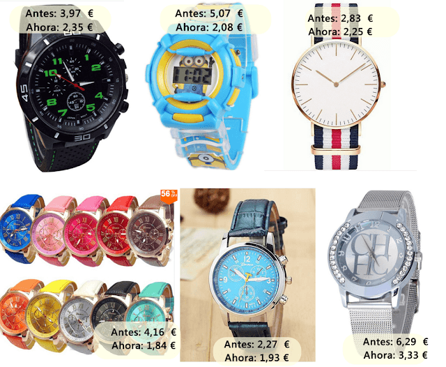relojes aliexpress
