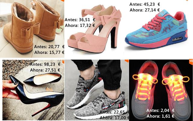 zapatillas y zapatos aliexpress