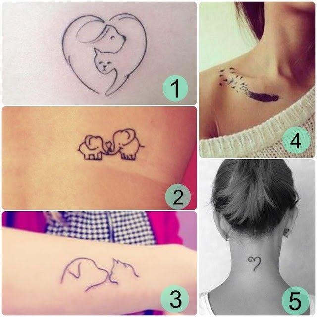 tatuajes delicados para mujeres