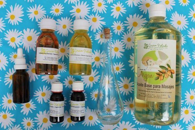 ingredientes para hacer cosmetica casera