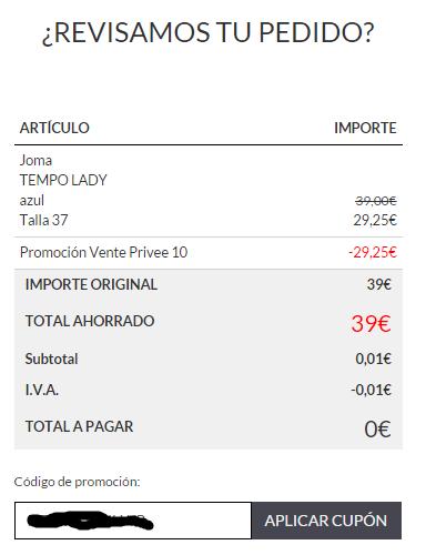 chollazo compra low cost modalia vente privee