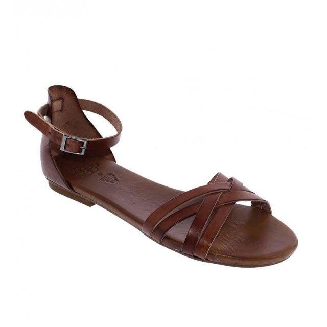 sandalias cuero romano