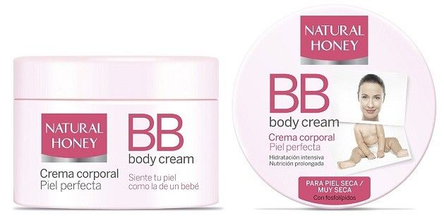 bb cream para el cuerpo natural honey
