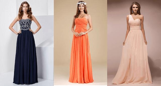 Vestidos para bodas y eventos baratos