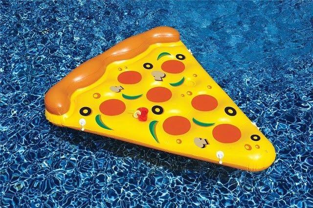flotador pizza