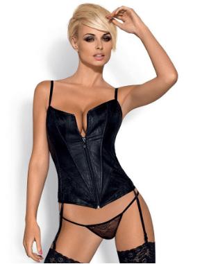 corset color negro