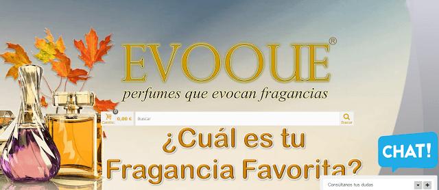 perfumes EVOOUE