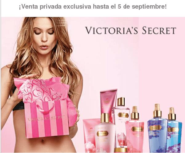cosmética de Victoria's Secret