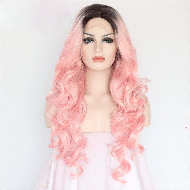 La moda de las pelucas de colores