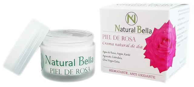 Crema ecológica de día, Piel de rosa de natural bella