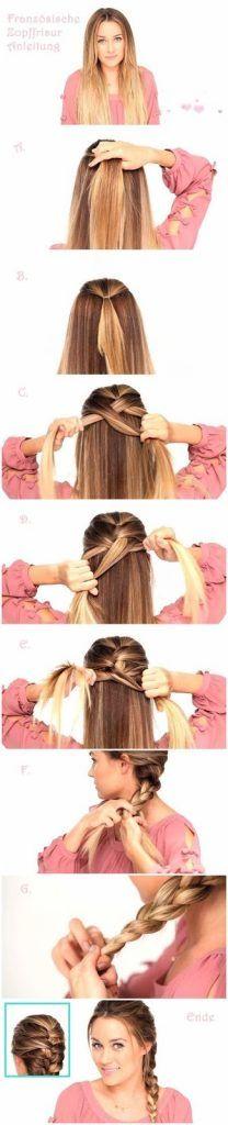 peinado paso a paso trenza