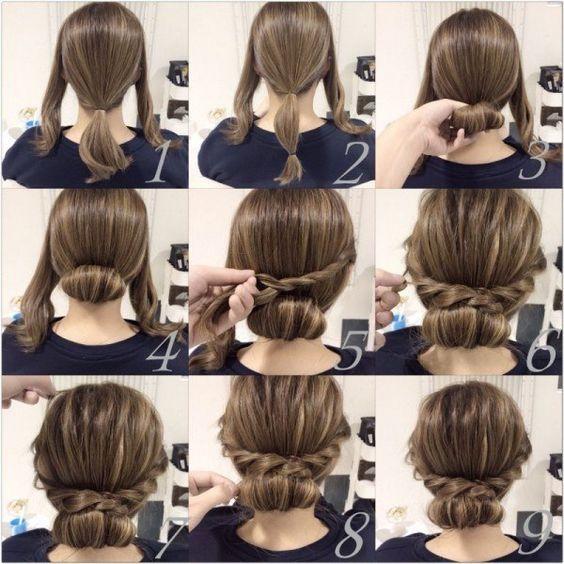 peinado facil paso a paso