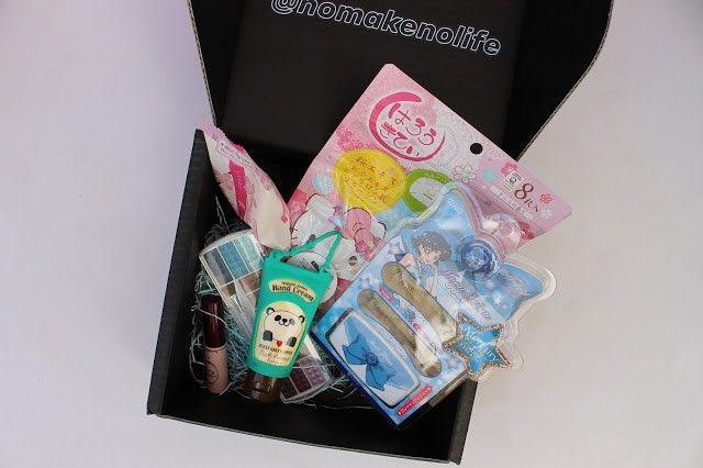 Caja de belleza japonesa nomakenolife