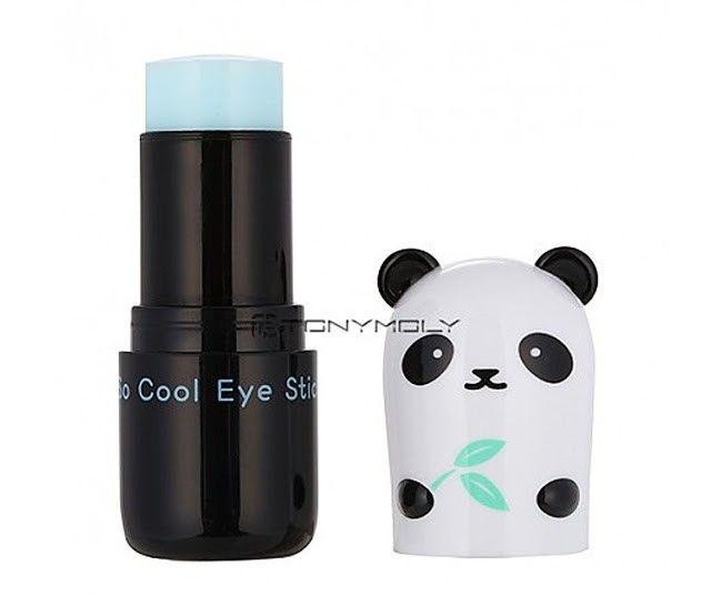contorno de ojos tony moly en oso panda