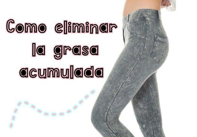 Como eliminar la grasa acumulada de la cintura