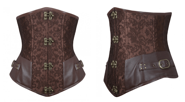 corset marron