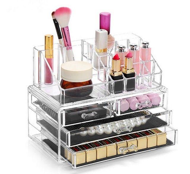 organizador maquillaje grande